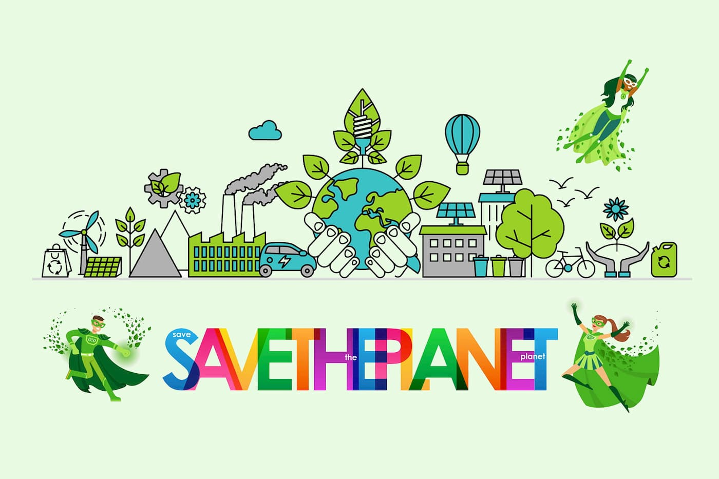 Panorama des solutions pour sauver la planète (à son échelle)