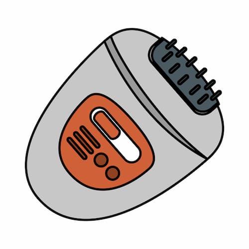 épilateur électrique
