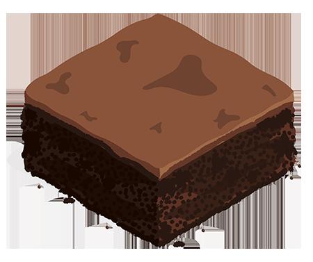 recette caroube brownies
