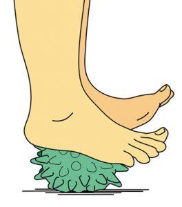 balle de massage pieds