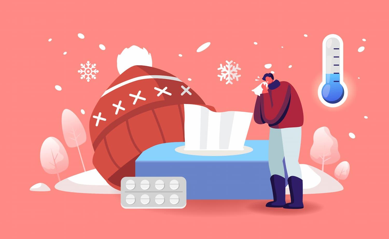 Mal de gorge hivernal : comment le soulager ?