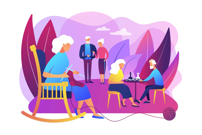 EHPAD, un cadre de vie idéal pour les personnes âgées dépendantes